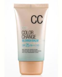 СС крем для лица WELCOS Color Change Blemish Balm SPF25 PA++
