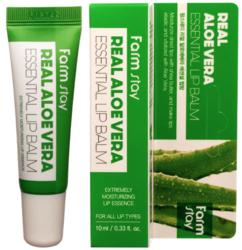 Бальзам для губ с алоэ Farm Stay Real Aloe Vera Essentiel Lip Balm