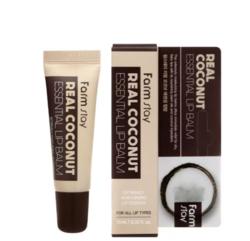 Питательный бальзам для губ с кокосом, FarmStay Real Coconut Essential Lip Balm