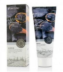 Пенка для умывания 3W Clinic Charcoal Foam Cleansing