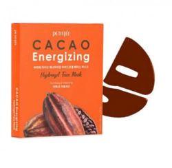 Тонизирующая гидрогелевая маска для лица с какао Petitfee Cacao Energizing Hydrogel Face Mask