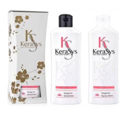 Подарочный набор восстанавливающий для поврежденных волос Kerasys Gift Set Repairing, шампунь + кондиционер