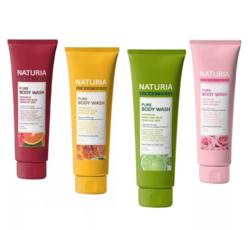 Гели для душа на основе натуральных экстрактов Naturia Pure Body Wash 100 мл.