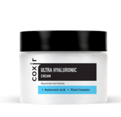 Крем для лица с гиалуроновой кислотой COXIR Ultra Hyaluronic Cream