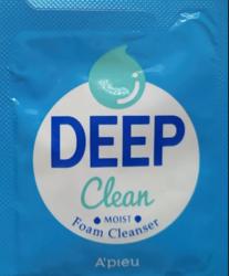 Пробник Увлажняющая пенка для умывания A'PIEU Deep Clean Foam Cleanser -Moist-