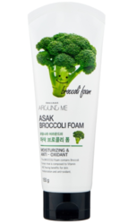 Пенка для умывания с экстрактом брокколи Around me Broccoli Foam Welcos