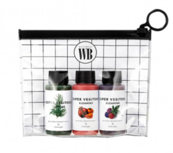 Набор миниатюр детокс-гелей Chosungah By Vibes Wonder Bath Super Vegitoks Cleanser Miniature Kit