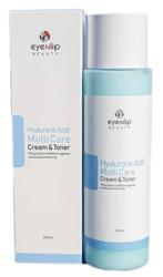 Тонер-крем 2 в 1 гиалуроновый EYENLIP Hyaluronic Acid Multi Care Cream & Toner