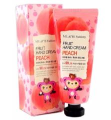 Крем для рук Milatte Fashiony Fruit hand cream peach