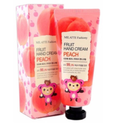 Крем для рук Milatte Fashiony Fruit hand cream peach