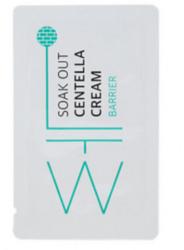 Пробник матирующего крема-барьера с экстрактом центеллы для проблемной кожи Soak Out Centella Cream Barrier