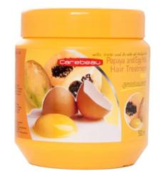 Восстанавливающая маска для волос с папайей и яичным желтком от Carebeau, Papaya and Egg Yolk Hair Treatment WAX
