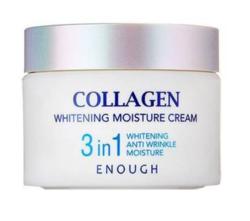 Увлажняющий крем для лица с коллагеном 3 в 1 Enough Collagen 3 in 1 Whitening Moisture Cream