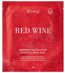 ГИДРОГЕЛЕВАЯ МАСКА ESTHETIC HOUSE RED WINE REGENERATING SOLUTION HYDROGEL MASK PACK