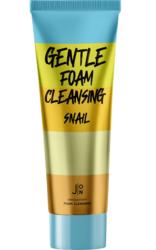 J:ON пенка для умывания с муцином улитки Gentle Foam Cleansing Snail
