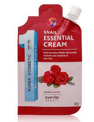 Крем для лица с муцином улитки Pocket Pouch Line Snail Essential Cream