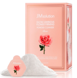 Энзимная пудра с розовой водой JM Solution Glow Luminious Flower Firming Powder Cleanser Rose