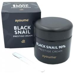 Крем для лица улиточный Ayoume Black Snail Prestige Cream