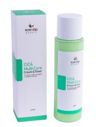 Тонер-крем 2 в 1 c центеллой азиатской Eyenlip Cica Multi Care Cream & Toner