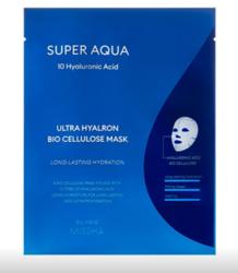 Увлажняющая биоцеллюлозная маска для лица MISSHA Super Aqua Ultra Hyalron Bio Cellulose Mask