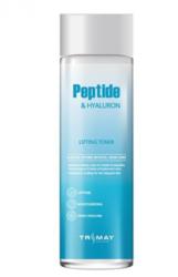 Тонер с гиалуроновой кислотой TRIMAY Peptide Hyaluron Lifting Toner