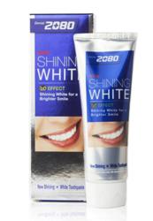 Зубная паста сияющая белизна Dental Clinic 2080 Shining White Toothpaste