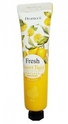 Парфюмированный крем для рук (цитрон) Sweet Yuja Perfumed Hand Cream