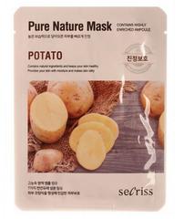 Тканевая маска с экстрактом картофеля ANSKIN Secriss Pure Nature Mask Pack-Potato