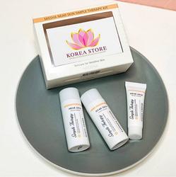 Набор MISSHA Near Skin Simple Therapy тонер, лосьон, крем для лица