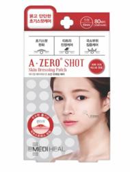 Патчи точечные от прыщей невскрывшихся MEDIHEAL A-zero Shot Skin Dressing Spot Patch