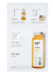 Трехступенчатая питательная маска MISSHA 3-step Nutrition Mask