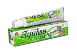 Антибактериальная Травяная Зубная Паста / Twin Lotus Herbal Toothpaste Original 40 гр