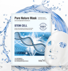 Тканевая маска со стволовыми клетками растений Pure Nature Mask Pack Stem Cell