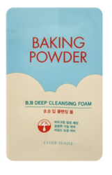 Пенка с содой для удаления ББ-крема ETUDE HOUSE Baking Powder BB Deep Cleansing Foam пробник