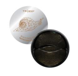 Питательные гидрогелевые патчи с муцином улитки TRIMAY Black Snail Gold Nutrition Eye Patch