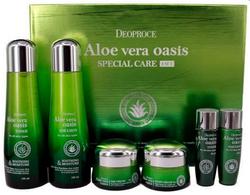 Набор уходовый с экстрактом алоэ вера Aloe Vera Oasis Special Care 4 Set