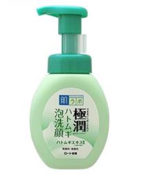 Очищающий мусс для лица против акне HADA LABO Gokujyun Hatomugi Foaming Face Wash