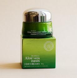 Дневной многофункциональный крем с алоэ вера Deoproce Aloe Vera Oasis Day Cream