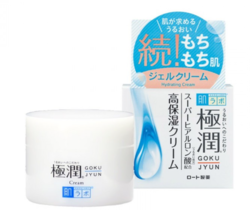 Увлажняющий гиалуроновый крем HADA LABO Gokujyun Super Hyaluronic Acid Moisturizing Cream