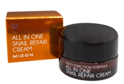 Крем с муцином улитки для лица MIZON All In One Snail Repair Cream