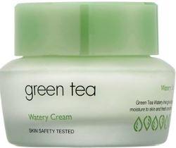 Крем с экстрактом зеленого чая для комбинированной и жирной кожи It`s Skin Green Tea Watery Cream