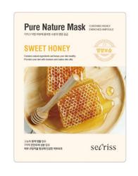 Тканевая маска с экстрактом меда ANSKIN Secriss Pure Nature Mask Pack-Sweet honey
