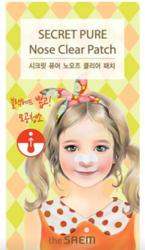 Патч для носа от черных точек THE SAEM Secret Pure Nose Clear Patch