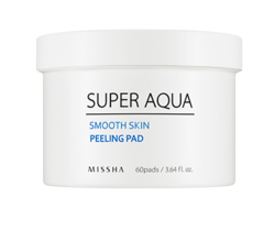 Пилинг-диски для лица MISSHA Super Aqua Smooth Skin Peeling Pad
