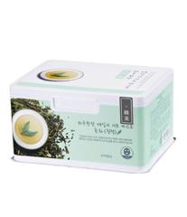 Набор успокаивающих тканевых масок с зеленым чаем APieu Daily Sheet Mask Green Tea Soothing