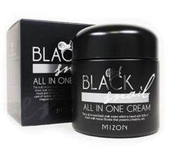 Крем с черной улиткой Mizon Black Snail All In One Cream