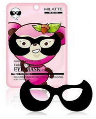 Патчи для глаз Milatte Fashion Black Eye Mask Racoon