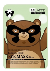 Патчи для глаз Milatte Fashiony Black Eye Mask – Bear