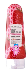 Универсальный гель Milatte Fruit Soothing Gel Strawberry
