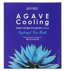 Гидрогелевая маска с агавой Petitfee Agave Cooling Hydrogel Face Mask